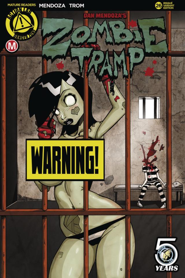 Zombie Tramp #26 (Mendoza Risque Cover)