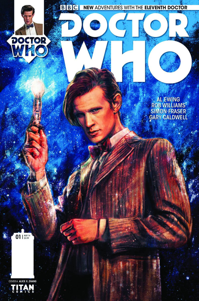 Doctor Who: New Adventures with the Eleventh Doctor #1 (2nd Printing)