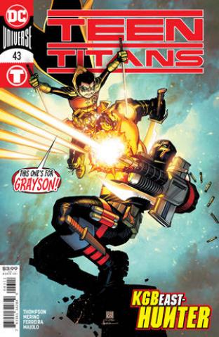 Teen Titans #43 (Bernard Chang Cover)