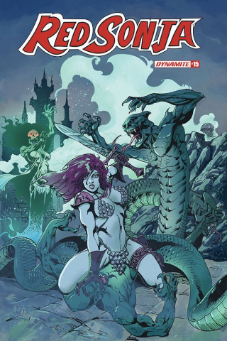 Red Sonja #15 (Castro Bonus Cover)