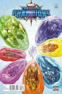 Contest of Champions #3 (Ibanez 2nd Printing Cover)