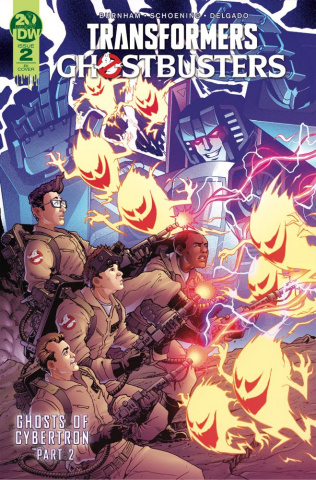 The Transformers / Ghostbusters #2 (10 Copy Griffith Cover)