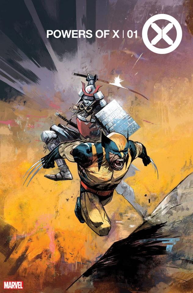 Powers of X #1 (Huddleston Cover)