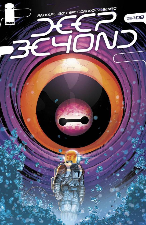 Deep Beyond #8 (Broccardo Cover)