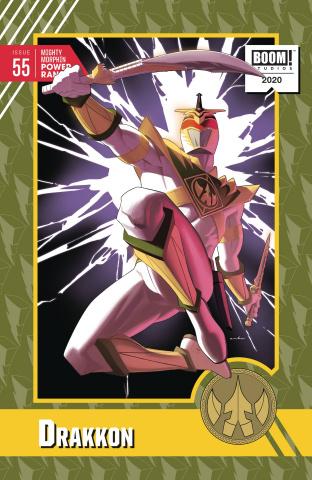 Mighty Morphin' Power Rangers #55 (10 Copy Anka Cover)