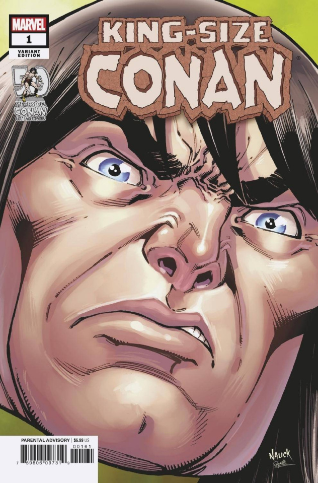 King-Size Conan #1 (Nauck Headshot Cover)