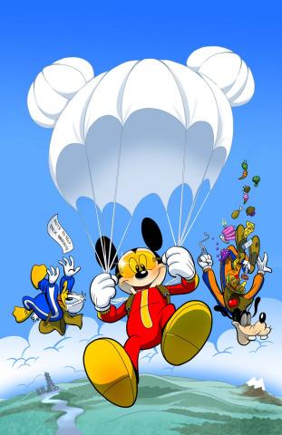 Walt Disney's Comics and Stories #722 (Subscription Cover)