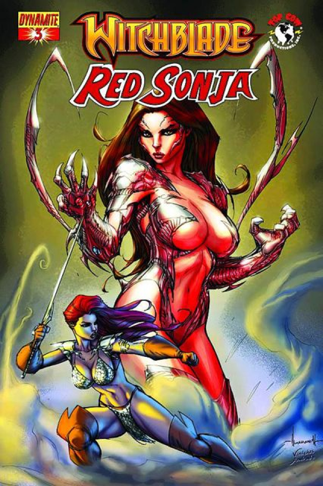 Red Sonja / Witchblade #3