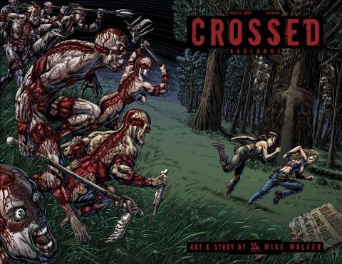 Crossed: Badlands #82 (Wrap Cover)
