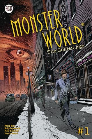 Monster World: The Golden Age #1 (Kowalski Cover)