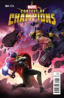 Contest of Champions #4 (Kabam Contest of Champions Game Cover)