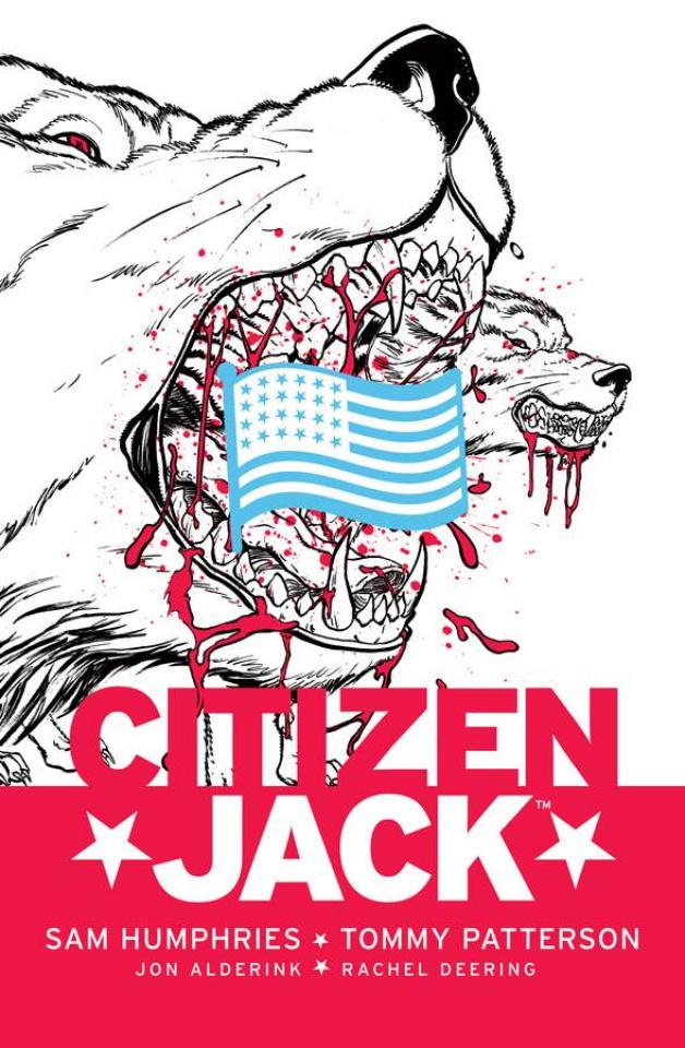 Citizen Jack #4 (Patterson & Todd Cover)