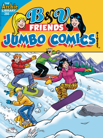 B & V Friends Jumbo Comics Digest #266