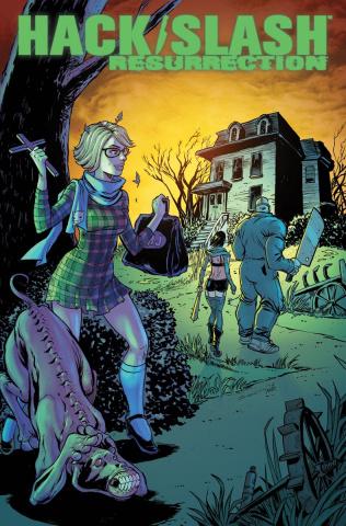 Hack/Slash: Resurrection #7 (Seeley Cover)