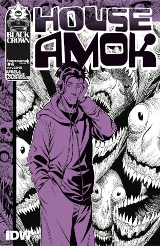 House Amok #4 (10 Copy McManus Cover)