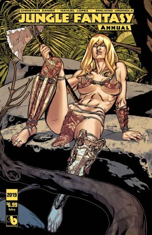 Jungle Fantasy Annual 2019 (Sultry Cover)