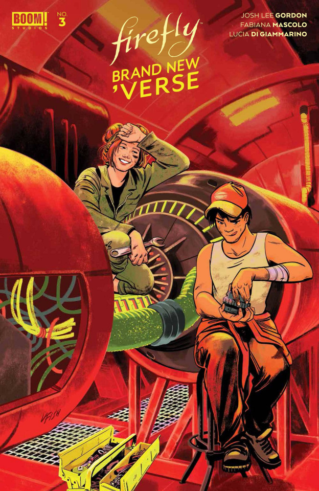 Firefly: Brand New 'Verse #3 (Fish Cover)
