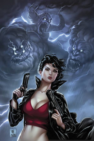 Grimm Fairy Tales: Inferno - Resurrection #1 (Krome Cover)