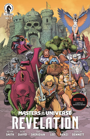 Masters of the Universe: Revelation #4 (Adams Cover)