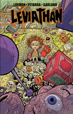 Leviathan #3 (Pitarra & Garland Cover)