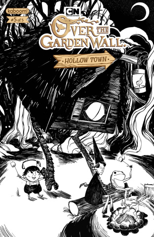 Over the Garden Wall: Hollow Town #5 (Preorder Hall Cover)