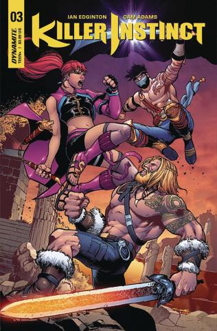 Killer Instinct #3 (Cinar Cover)