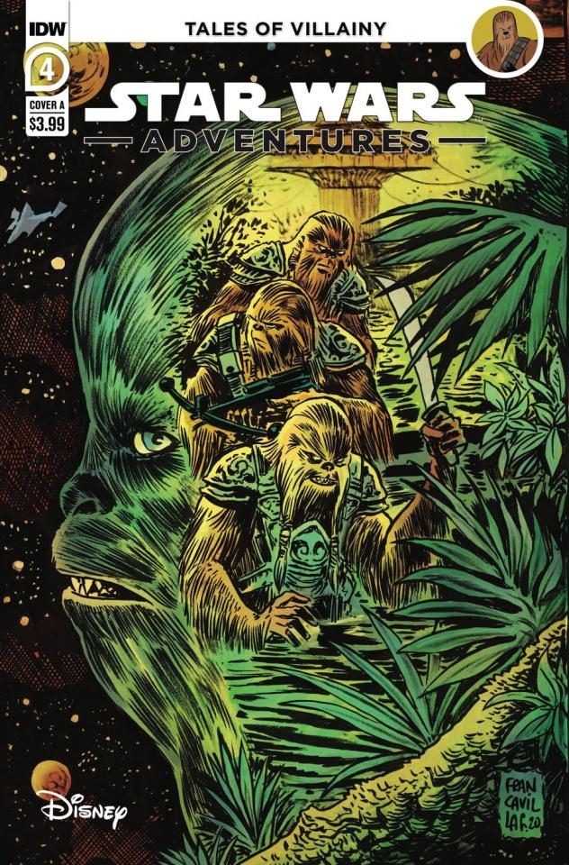 Star Wars Adventures #4 (Francavilla Cover)