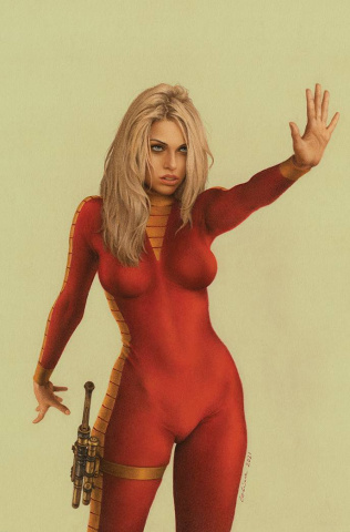 Barbarella #3 (7 Copy Celina Virgin Cover)