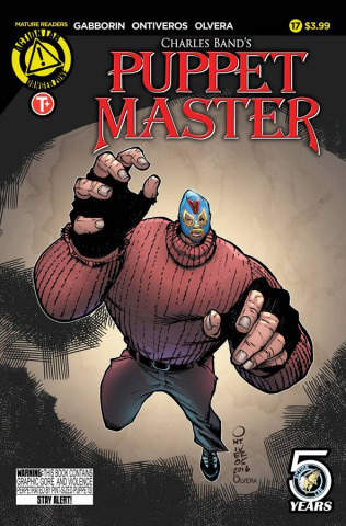 Puppet Master #17 (Ontiveros Cover)