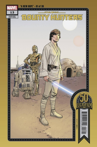 Star Wars: Bounty Hunters #13 (Sprouse Lucasfilm 50th Cover)