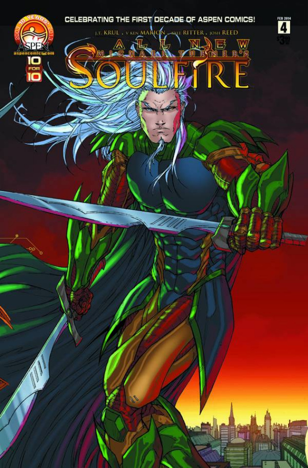 All New Soulfire #4 (Cover D)