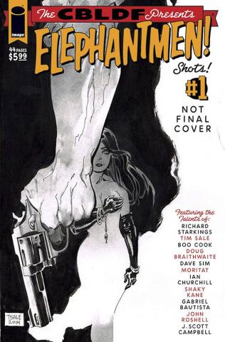 Liberty Comics Presents Elephantmen Shots! #1 (Sale & Cook Cover)