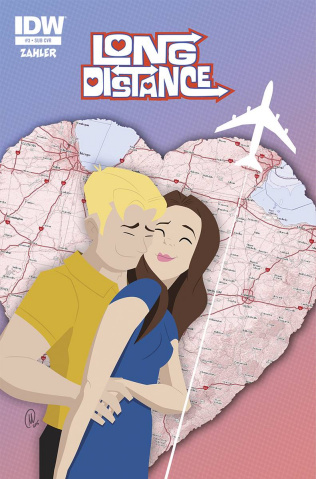 Long Distance #3 (Subscription Cover)