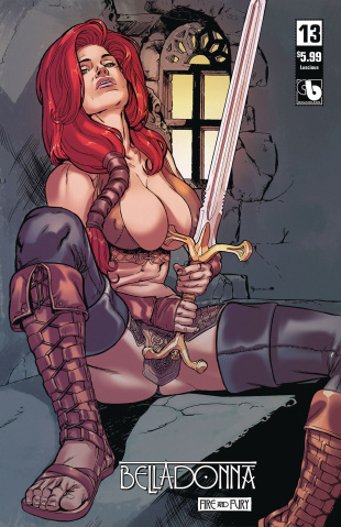 Belladonna: Fire and Fury #13 (Luscious Cover)