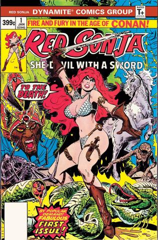 Red Sonja #1 (1977 Dynamite Edition)