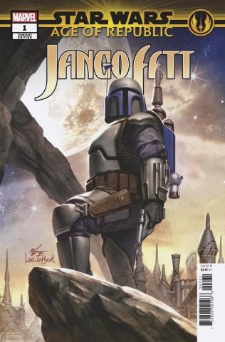 Star Wars: Age of Republic - Jango Fett #1 (Inhyuk Lee Cover)