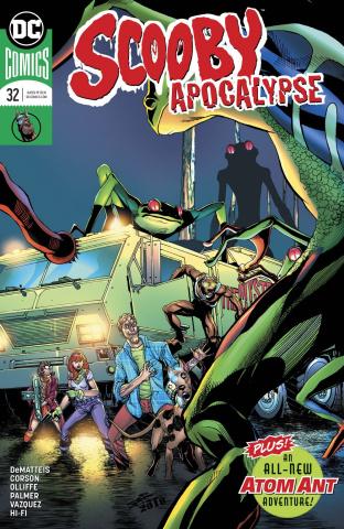 Scooby: Apocalypse #32