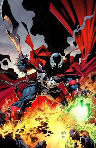 Spawn #300 (Capullo Virgin Cover)