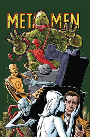 Metal Men #9 (Card Stock Brian Bolland Cover)