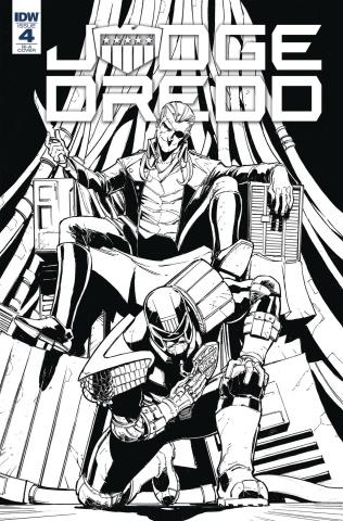 Judge Dredd: Under Siege #4 (10 Copy Dunbar Cover)