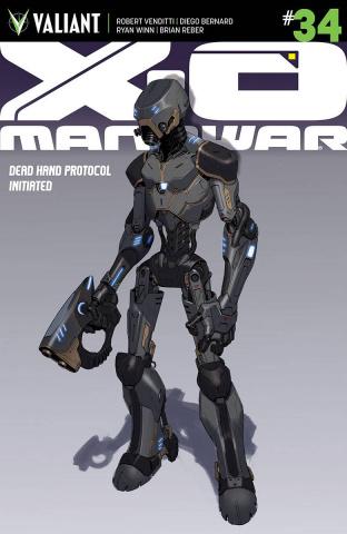 X-O Manowar #34 (20 Copy Character Design Molina Cover)