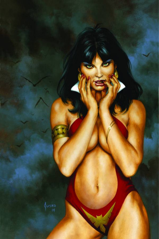 Vampirella #100 (Rare Jusko Virgin Art Cover)