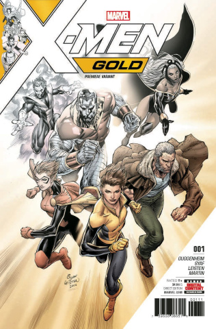 X-Men: Gold #1 (Syaf Cover)
