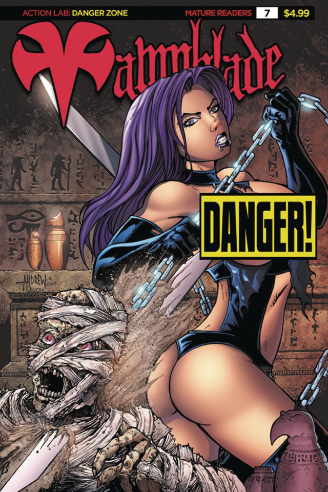 Vampblade #7 ('90s Monster Risque Cover)