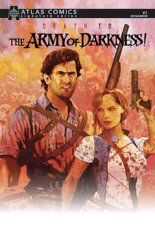 Death to the Army of Darkness #1 (Parrot Signed Atlas Edition)