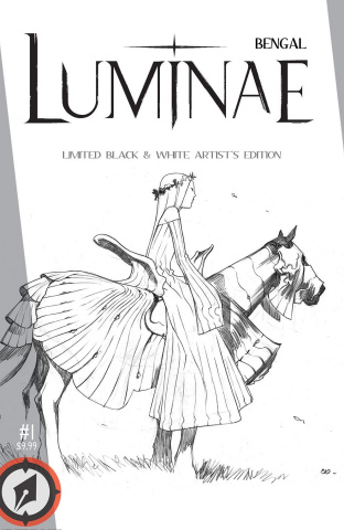 Luminae: Limited Black & White Line Artist's Edition