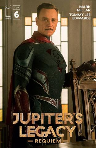 Jupiter's Legacy: Requiem #6 (Netflix Photo Cover)