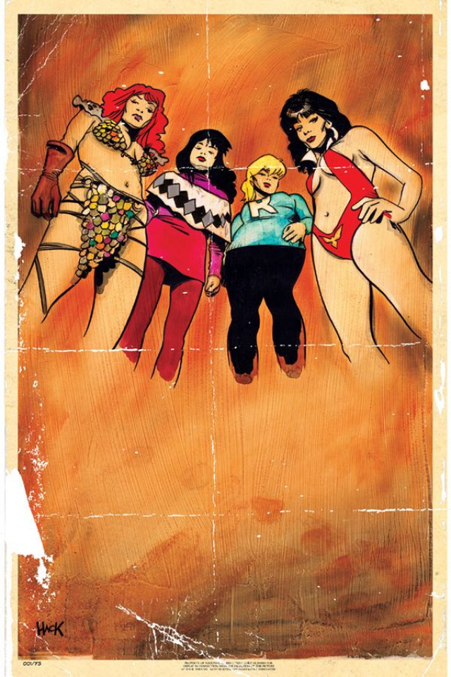 Red Sonja and Vampirella Meet Betty and Veronica #1 (40 Copy Hack Virgin Cover)
