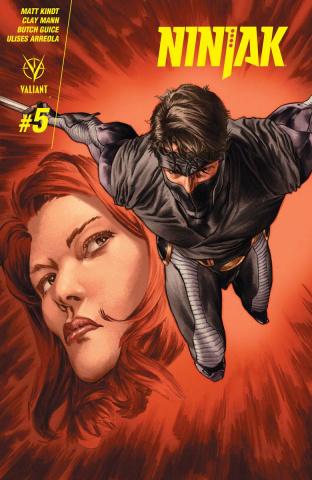 Ninjak #5 (Larosa Cover)
