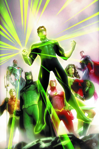 Justice League of America #4 (Green Lantern 75th Anniversary Cover)